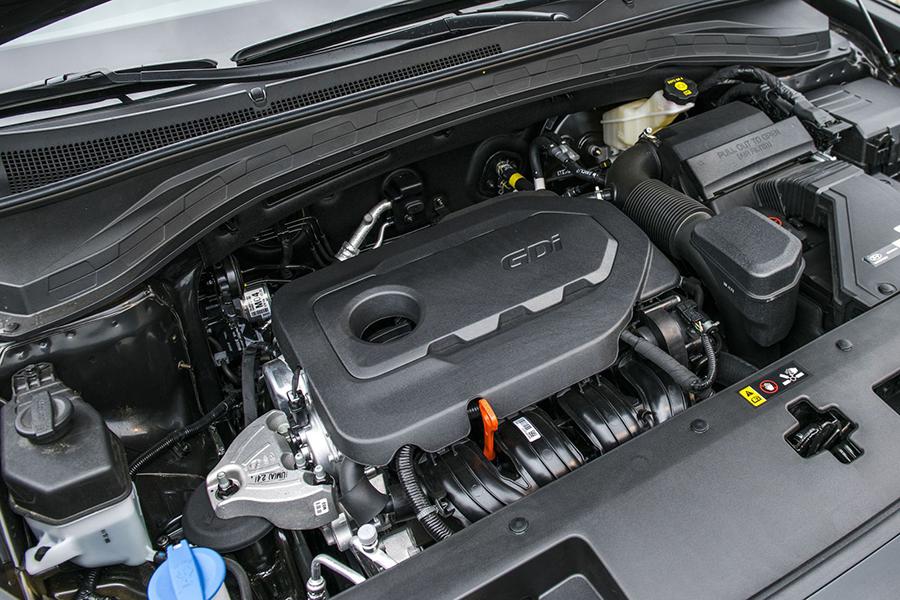Động cơ của Hyundai Santafe máy dầu đặc biệt