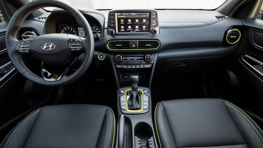 Nội thất xe Hyundai Kona bản cao nhất
