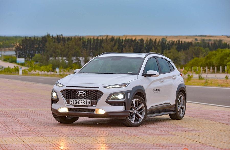 Hyundai Kona bản đặc biệt có vẻ ngoài bắt mắt